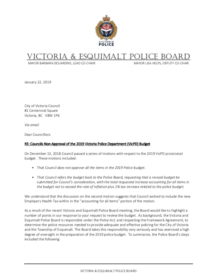 Communities Against Criminalization responds to leaked Victoria